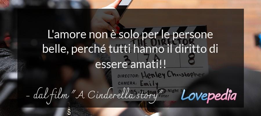 """dal film """"A Cinderella story"""""""