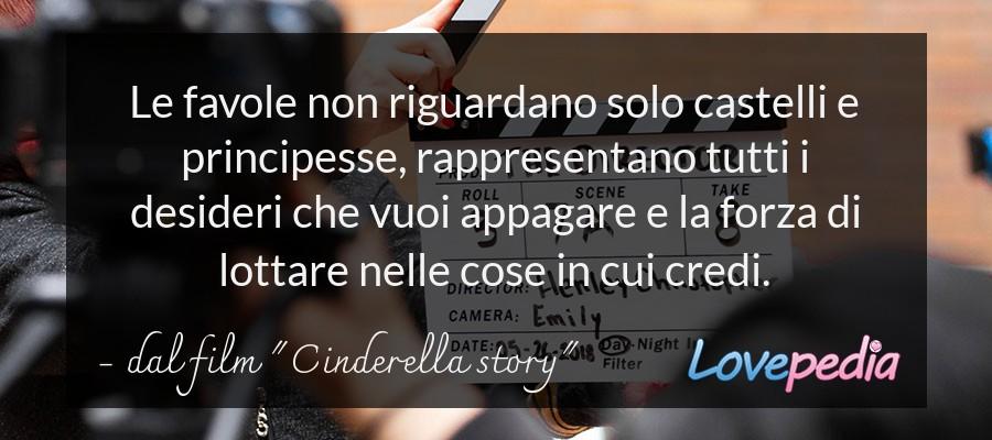 """dal film """"Cinderella story"""""""