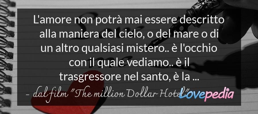 """dal film """"The million Dollar Hotel"""""""
